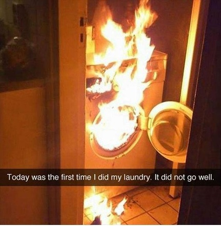 Bad Laundry Day